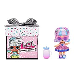 UNBOX 8 SURPRISES - LOL Surprise Present Surprise is the ideal gift with 8 surprises inside to unbox, including a beautiful doll and adorable accessories LOTS OF FUN - Each package comes already wrapped in a fabulous gift box with a ribbon and a cute...