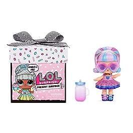 LOL Surprise cadeau surprise. Poupée du Mois avec 8 cadeaux Surprises. Changement de couleur amusant et accessoires…