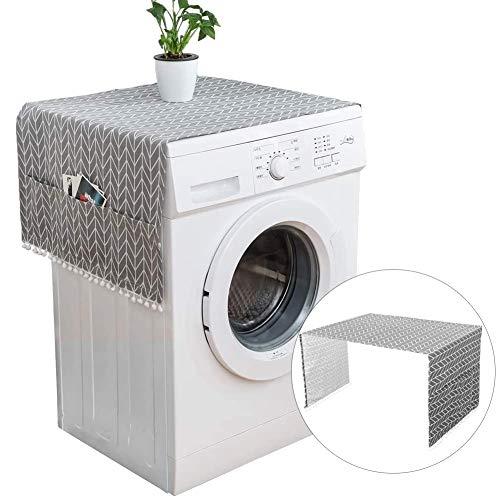 Coperchio Antipolvere per Frigorifero,Copertura per Lavatrici e Asciugatrice,Multiuso Copertura Antipolvere Lavatrice