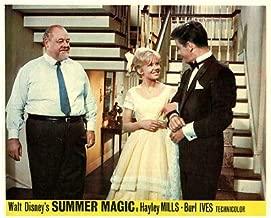 Summer Magic Original Disney Lobby Card Hayley Mills Peter Brown Burl Ives