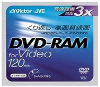 日本ビクター DVD-RAMディスク(for VIDEO)ノンカートリッジゴールド単品 VD-M120NF