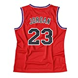 Weltle Youth Basketball Jersey 23# Space Movie Jersey Shirts White/Black S-XL for Kids/Boys Gift for Kids