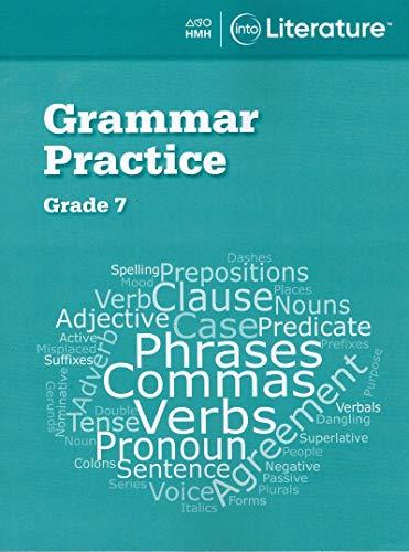 Into Literature Grammar Practice Workbook Grade 7 (Into Literature 6-8 National 2020)