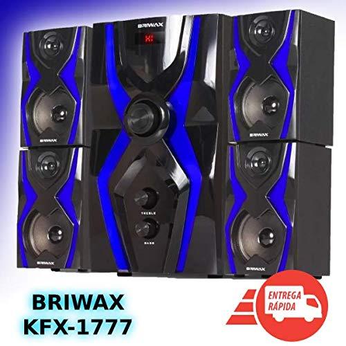 Home Theater 5.1 Sistema Som 70w Bluetooth Mp3 Subwoofer Usb
