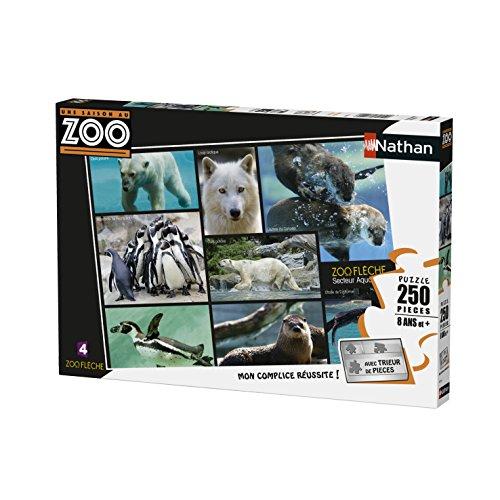 Nathan- Puzzle Les Animaux du Zoo 250 pièces, 86870