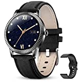 GOKOO Smartwatch Donna Orologio Fitness Tracker Monitor Della Frequenza Cardiaca Orologi Sportivi Activity Tracker Contapassi Contatore di Calorie Smartwatch Bluetooth Compatible with Android iOS