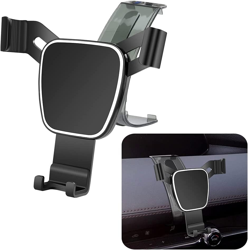 LUNQIN Car Phone Holder for 2019-2020 Mazda 3 Auto Accessories Navigation Bracket Interior Decoration Mobile Cell Phone Mount