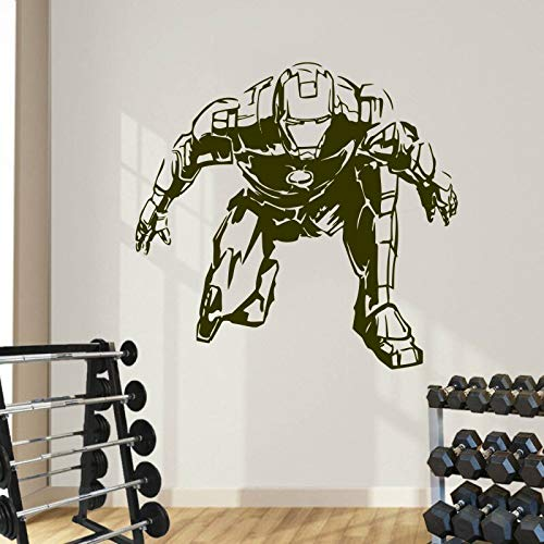 Fotobehang staal wonder comic art sticker kinderkamer decoratie woonkamer slaapkamer woonaccessoires poster decoratie 50.4x46.8cm