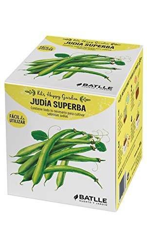 Huerto Urbano - Kit Happy Garden Judía Superba - Batlle: Amazon.es ...