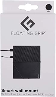 FLOATING GRIP XBOX One (Original) Wall Mount (Black) - Mount your XBOX on the wall right next to or behind your TV - Made ...
