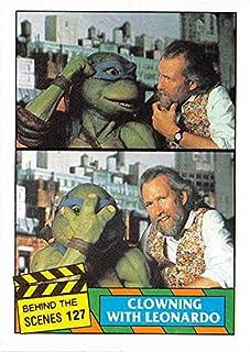Jim Henson trading card Teenage Mutant Ninja Turtles 1990 Topps #127
