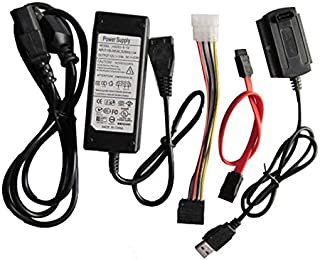 SANOXY 3 in 1 USB 2.0 to SATA/IDE Adapter Cable + Power Cord