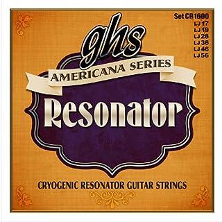 GHS CR1600 Americana Regular String Resonator Guitar