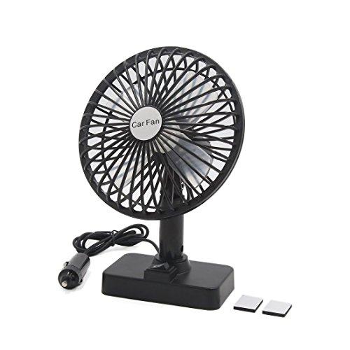 Ventilador de refrigeración silencioso multifuncional para toma de mechero de coche, CC 12 V, 4,5 W/3,4 W