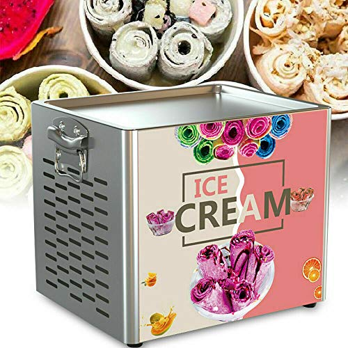 Best Prices! Electric Fry Pan Ice Cream Rolled Fried Ice Cream Yogurt Roll Machine 180W