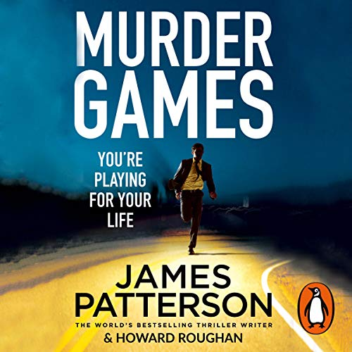 Murder Games audiobook cover art