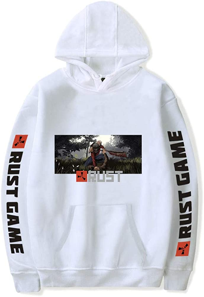 Rust Game Hoodies Men Women Long Sleeve Oversized Fashion Sweatshirts Hip Hop Hoodie