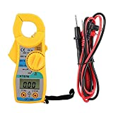 Medidores Digitales Con Pinza Multímetro Digital De Voltaje De Corriente Eléctrica Multímetro Kt87n Megger Tester (amarillo)