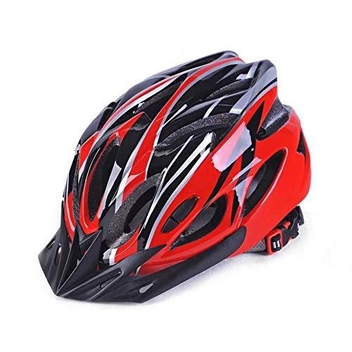 lhmlyl Bicicleta Adulto Casco de Bicicleta Red Road Cascos de Ciclismo de...