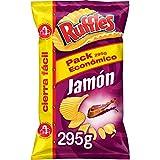 Ruffles Jamon, Patatas fritas - 295 gr