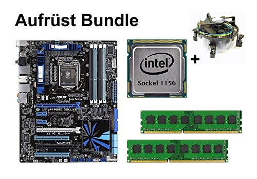 Aufrüst Bundle - ASUS P7P55D Deluxe + Intel Core i5-661 + 4GB RAM #154023