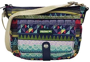 Lily Bloom Cristina Crossbody Bag  Stripe Jam