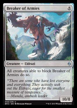 Magic The Gathering - Breaker of Armies (003/274) - Battle for Zendikar - Foil