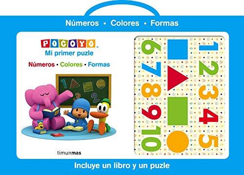 Pocoyó. Mi primer puzle: Números Colores Formas (Pocoyo)