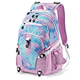 High Sierra Loop Backpack, Rainbow Scales, 19 x 13.5 x 8.5-Inch