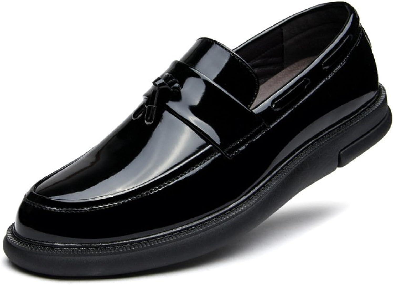 Patent Leather Fashion Casual shoes Shiny Men's shoes Comfortable shoes