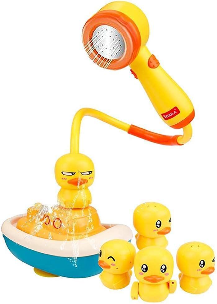 YILAIBAODAN Baby Milwaukee Mall Popular product Bath Shower Head Toy Bathtub Duck Wate Electric