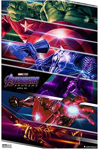 Marvel Avengers Endgame 52 - Cartel de la película de cine - La reproducción, el regalo perfecto - A3 Cartel (16.5/11.7 inch) - (42/30 cm) - Papel fotográfico grueso brillante