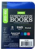 3 Pack Mini Composition Book