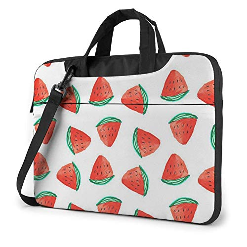 XCNGG Computertasche Umhängetasche Laptop Bag, Delicious Watermelon Business Briefcase Protective Bag Cover for Ultrabook, MacBook, Asus, Samsung, Sony, Notebook 13 inch