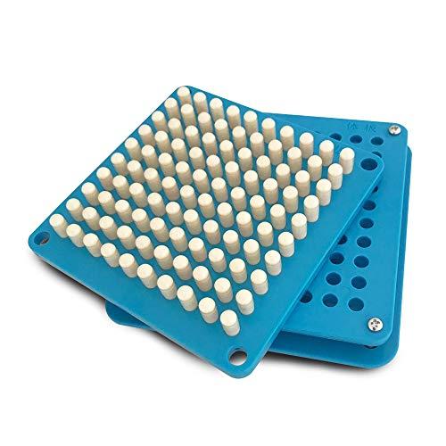 Máquina para Rellenar 100 cápsulas   Rellenador de cápsulas vacías con Placas de esparcidor de Polvo Herramienta de llenado Cápsulas Conexión de cápsulas (0#)