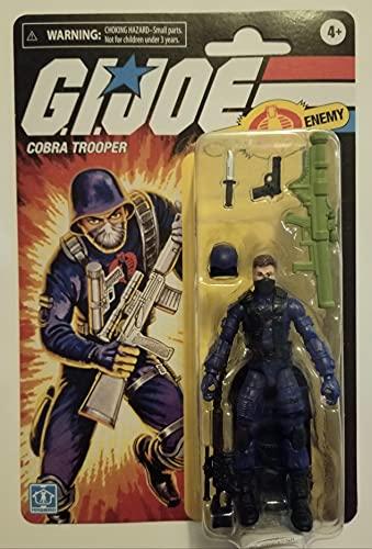 G.I. Joe Retro Cobra Trooper (Cobra Enemy) Figura de acción exclusiva de 3.75 pulgadas
