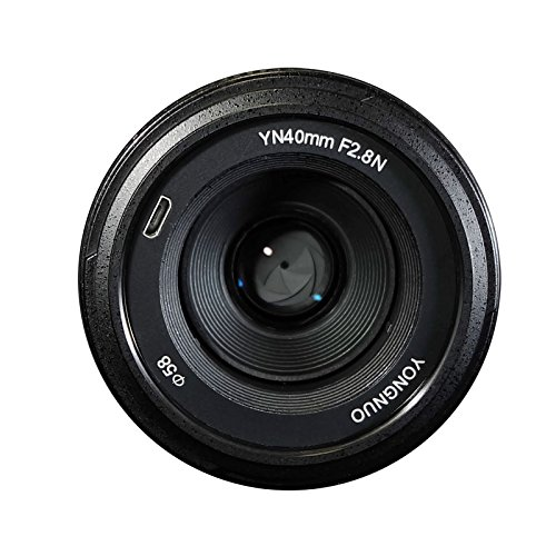 YONGNUO YN40mm F2.8N 1:2.8 Light-Weight Standard Prime AF/MF Lens for Nikon DSLR Cameras