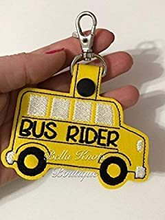 Bus Rider Backpack Tag