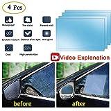 Anti Fog Film Car Rear View Mirror Waterproof Film protective film Anti Glare