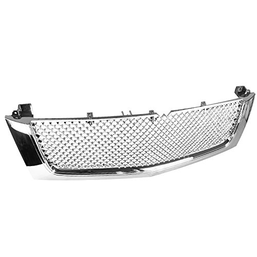 Spec-D Tuning For Cadillac Escalade Ext Esv Front Mesh Grille Chrome