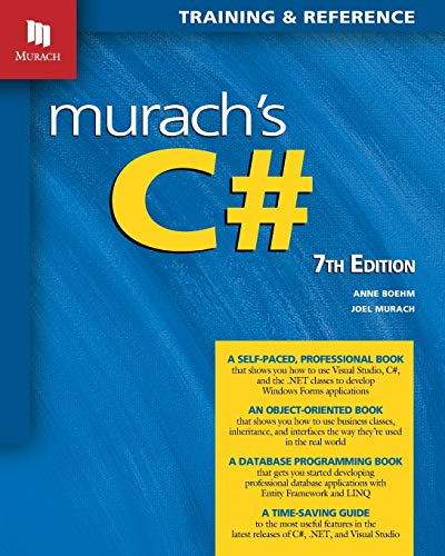 Murach's C# (7th Edition) (Murach Books)