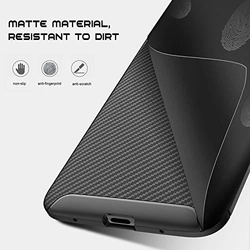 Hülle kompatibel mit Huawei Mate 20 Pro Hülle TPU Außenaktivitäten Schutzhülle mit Standfunktion stoßfest geschützt Case für Huawei Mate 20 Pro 2018 Muti-Funktion(Huawei Mate 20 Pro, Schwarz) - 6