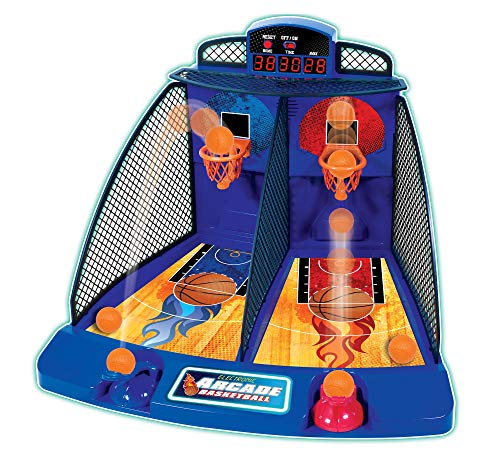 Fat Brain Toys Electronic Arcade Basketball Games for Ages 6 to 11