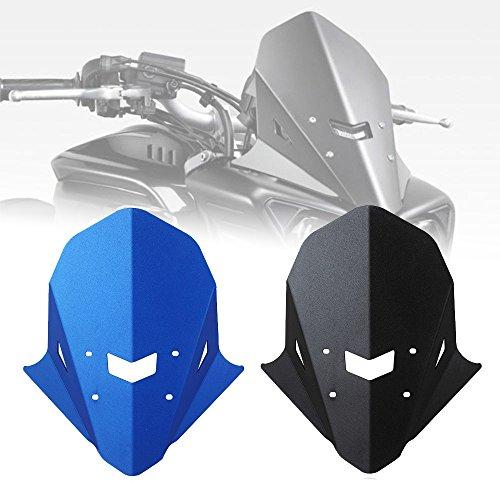 FZ10 MT10 Moto En Aluminium Supérieur Phare Protecteur Top Montage Couvercle Déflecteurs D'air Pare-Brise pour 2016 2017 2018 2019 Yamaha FZ MT 10 FZ-10 MT-10 Pièces (