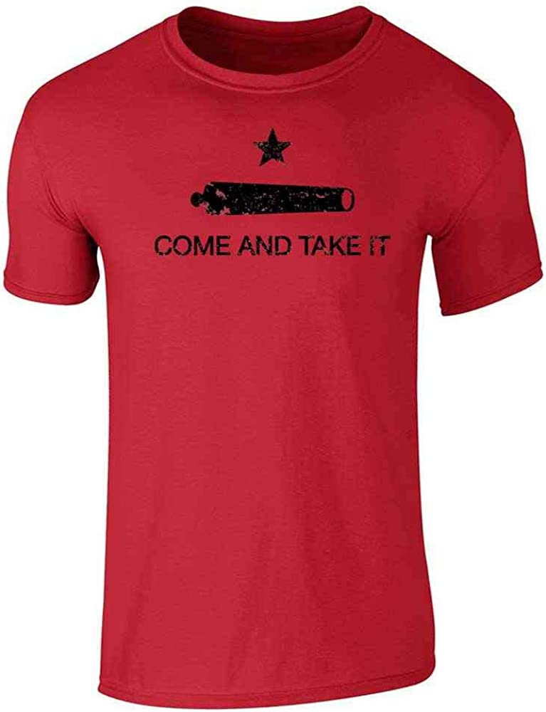 Come and Take It Flag Red 3XL Graphic Tee T-Shirt for Men