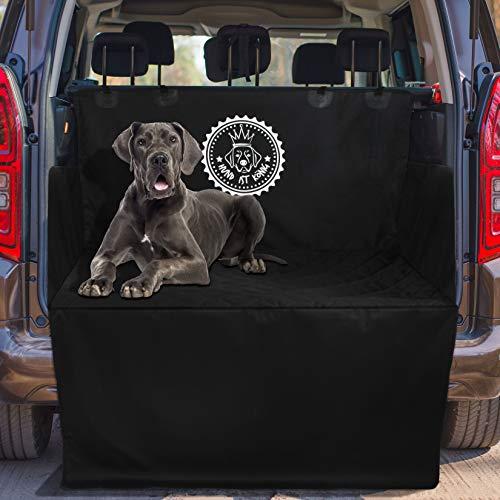 Universal Kofferraumschutz Hund, rutschfeste Auto Kofferraum Schutzmatte für Hunde, Wasserabweisende Kofferraumdecke für Hunde, schmutzabweisend & Pflegeleichte Hundedecke mit Ladekantenschutz
