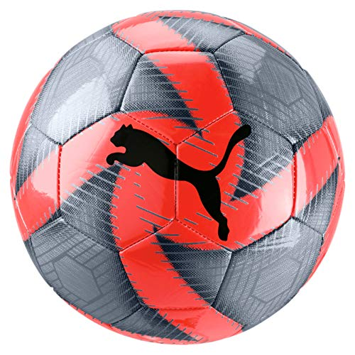PUMA Future Flare Ball, Pallone da Calcio Unisex Adulto, Grey Dawn-Nrgy Red-Asphalt White, 5