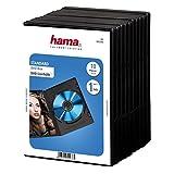 Hama DVD-Hüllen (auch passend für CDs und Blu-rays, mit Folie zum Einstecken des Covers) 10er-Pack, …