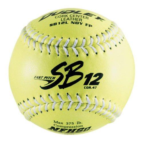 Sport Supply Group Inc Dudley SB12LND-FP NFHS 12 in. Fastpitch Softballs - 1 Dozen