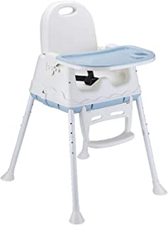 Baby Chair Multifunction Portable Children Dining Chairs Adjustable Height Foldable Toddler Seat